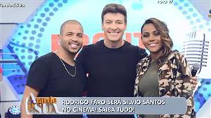 Rodrigo Faro irá interpretar Silvio Santos no cinema