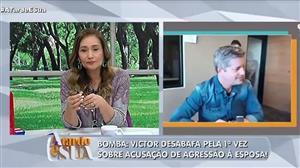 Victor Chaves fala pela primeira vez após caso de agressão à esposa
