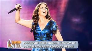 Saiba quem são os cantores mais bem pagos do Brasil