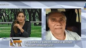 Marcelo Rezende viaja com Geraldo Luís para retiro espiritual