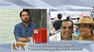 Ivete Sangalo é flagrada comprando enxoval nos Estados Unidos
