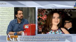 Maisa Silva organiza festa luxuosa para comemorar seus 15 anos