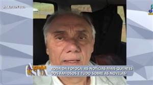Amizade de Marcelo Rezende e Geraldo Luís comove público