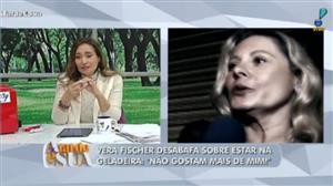 """""""Um absurdo"""", diz Sonia Abrão sobre crítica de Vera Fischer a emissora"""
