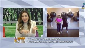 Quem leva a melhor? Viviane Araújo e Gracyanne Barbosa dançam 'Despacito'