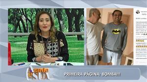 Marcelo Rezende se afasta de Geraldo Luís durante tratamento de câncer