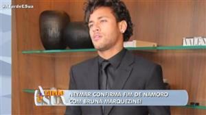 Neymar confirma fim de namoro ao A Tarde é Sua
