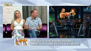 """Reality Show faz mal para a saúde"", adverte Rafael Ilha"