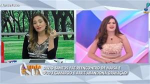 """""""Educação não tem idade, vem de berço"""", diz Sonia Abrão a Maisa"""