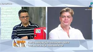 """Vladimir sobre Fabio Assunção: """"Esse episódio não pode tirar o brilho dele"""""""