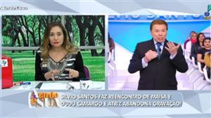 Silvio Santos se manifesta sobre comportamento de Dudu Camargo