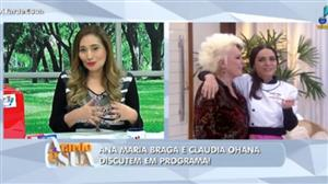 """Sonia sobre Ana Maria e Cláudia Ohana: """"Acho muito ruim corrigir alguém"""""""