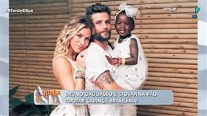 Giovanna Ewbank e Bruno Gagliasso adotarão criança brasileira, diz jornal
