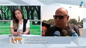 Amilcare Dallevo presta suas últimas homenagens a Marcelo Rezende
