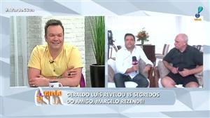 Geraldo Luís revela 15 segredos sobre Marcelo Rezende