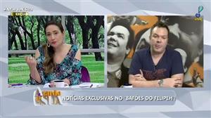 Ex-namorada de Marcelo Rezende bloqueia rede social após ataques na web