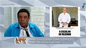 """""""Ele tomou o caminho certo"""", diz Agnaldo Timóteo sobre Marcelo Rezende"""