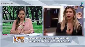 """""""Fábio Arruda vai ser processado"""", revela Sonia Abrão após briga em reality"""