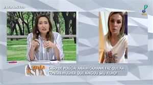 """Mulher que xingou filho de Ana Hickmann pede desculpa: """"bebi demais"""""""