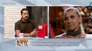 """""""Está depressiva"""", diz Thiago Rocha sobre Rita Cadillac em reality show"""