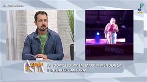 """Fã joga celular em Marília Mendonça e enfurece cantora: """"não sou cadela"""""""