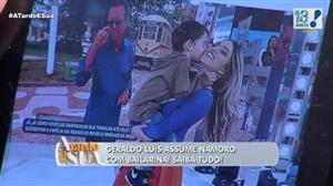 Geraldo Luís assume namoro com bailarina; saiba tudo sobre o romance