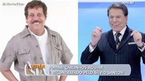 Humorista Carlinhos Aguiar é recontratado por Silvio Santos