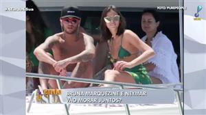 Mãe e irmã seriam contra a possibilidade de Neymar morar com Marquezine