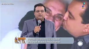 Geraldo Luís pode perder programa aos domingos