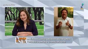 Carlinhos Aguiar fala sobre sua recontratação ao A Tarde é Sua