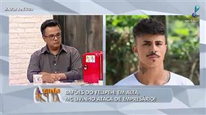 Sucesso nos palcos, funkeiro MC Livinho ataca de empresário