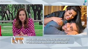 Sonia Abrão fala sobre volta de Naldo e Moranguinho