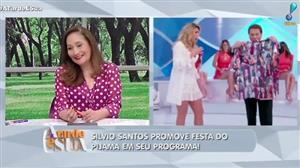 """""""Silvio Santos deveria olhar Lívia Andrade com outros olhos"""", diz Vladimir"""