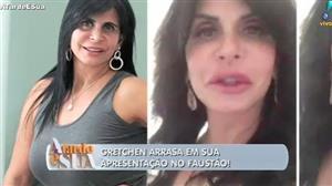"""""""Seria rainha"""", dispara Sonia Abrão sobre Gretchen em quadro de dança"""