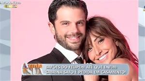 Bafões do Felipeh: Sabrina Sato é pedida em casamento