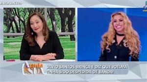 """""""Ela teve jogo de cintura"""", diz Sonia Abrão sobre Joelma com Silvio"""