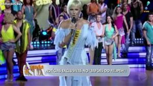 """""""Horrenda"""", dispara Felipeh Campos sobre figurino de Xuxa"""