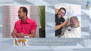 Arlindo Cruz pode ter alta até o Carnaval