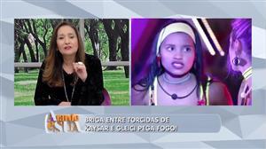 Sonia Abrão critica quem a acusa de fazer campanha contra a BBB Gleici