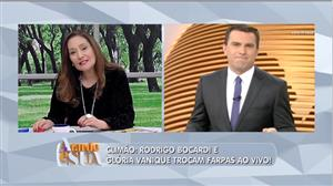 Rodrigo Bocardi vai para a geladeira por troca de farpas com Glória Vanique