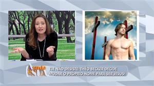 """Sonia Abrão critica Theo Becker: """"Cismou com essa história de Jesus Cristo"""""""