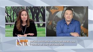 Bafões do Felipeh: Mulher de Rafael ilha surge lindíssima em clipe