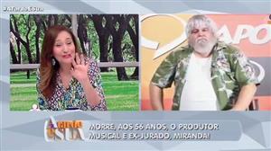 """""""Era um grande ser humano"""", diz Sonia Abrão sobre Miranda"""