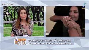 Em vídeo antigo, Simaria chora e conta que já teve tuberculose em 2014