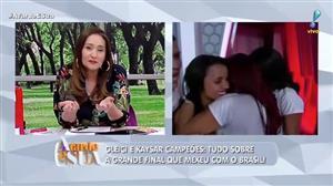 """Sonia Abrão confessa que não queria cobrir BBB, mas assume: """"valeu a pena"""""""