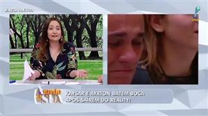 """Sonia Abrão defende Kaysar por bate boca com Ayrton: """"ele está reagindo"""""""