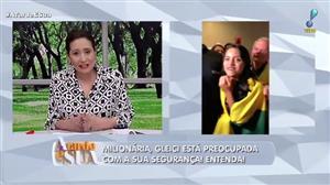 """Sonia Abrão alerta Gleici sobre segurança da família: """"ela está em alerta"""""""