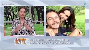 """Fátima Bernardes está mais bonita namorando? Túlio discorda: """"é a mesma"""""""