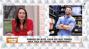 """Sonia Abrão elogia """"honestidade"""" de Cauã por assumir que bebeu e dirigiu"""