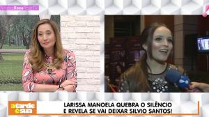"""Larissa Manoela sobre novo convite de emissora: """"Não falaram com meus pais"""""""
